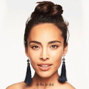 NWOT STELLA & DOT Trove Tassel Earrings